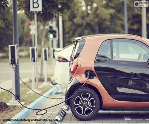 Puzle Carregamento de carro elétrico