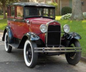 Puzle Carro antigo