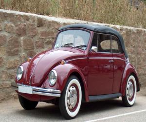 Puzle Carro clássico - Volkswagen Fusca