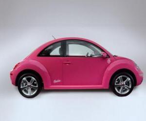 Puzle Carro da Barbie