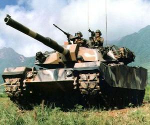 Puzle Carro de combate o tanque de guerra