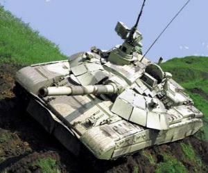 Puzle Carro de combate o tanque de guerra T-72