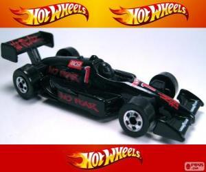 Puzle Carro de corrida Hot Wheels