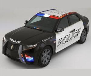 Puzle carro de polícia