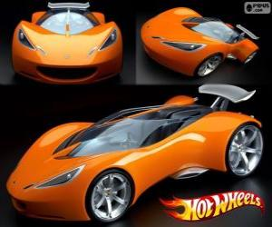 Puzle Carro esporte Hot Wheels