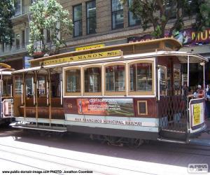 Puzle Carruagem de cabos São Francisco