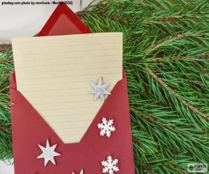 Puzle Carta ao Papai Noel