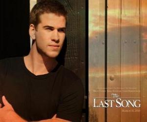 Puzle Cartaz Promocional A Última Música ou A Melodia do Adeus (Liam Hemsworth)