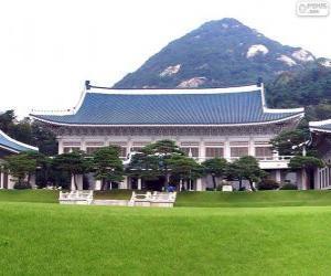 Puzle Casa Azul, Seul, Coreia do Sul