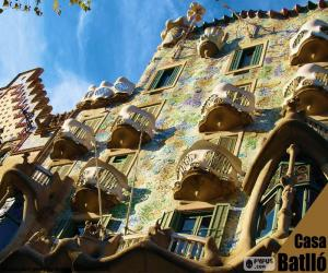 Puzle Casa Batlló, Barcelona