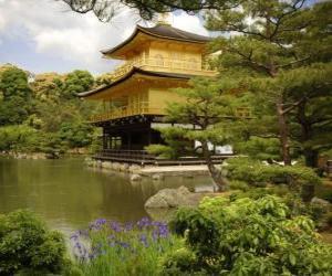 Puzle Casa estilo oriental