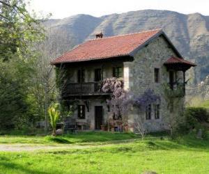 Puzle Casa no campo