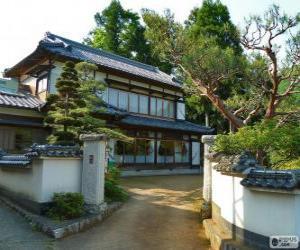 Puzle Casa tradicional japonesa