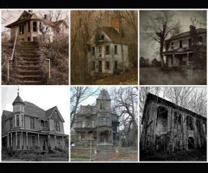 Puzle casas mal-assombradas