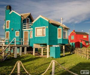 Puzle Casas, Santa Clara del Mar, ARG