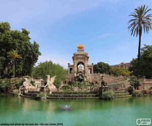 Puzle Cascata do Parc de la Ciutadella, Barcelona