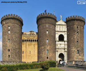 Puzle Castel Nuovo, Itália