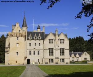 Puzle Castelo Brodie, Escócia