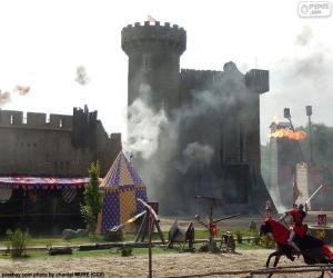 Puzle Castelo da idade média