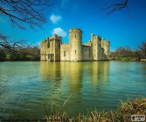 Puzle Castelo de Bodiam, Inglaterra
