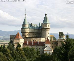 Puzle Castelo de Bojnice, Eslováquia