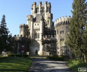 Puzle Castelo de Butrón, Espanha
