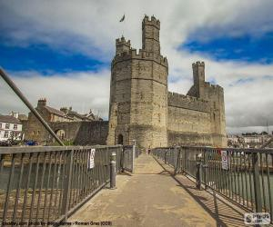Puzle Castelo de Caernarfon, Gales