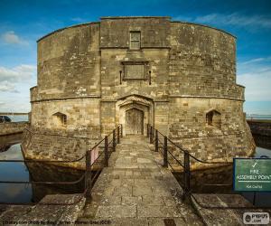 Puzle Castelo de Calshot, Inglaterra