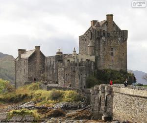 Puzle Castelo de Eilean Donan, Escócia