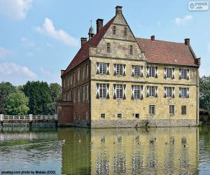 Puzle Castelo de Hülshoff, Alemanha