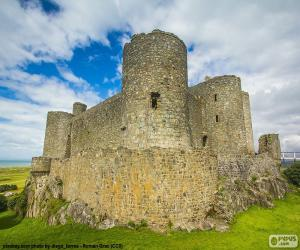 Puzle Castelo de Harlech, País de Gales