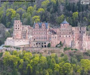 Puzle Castelo de Heidelberg, Alemanha