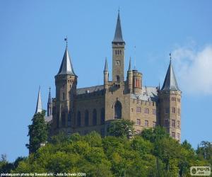 Puzle Castelo de Hohenzollern, Alemanha