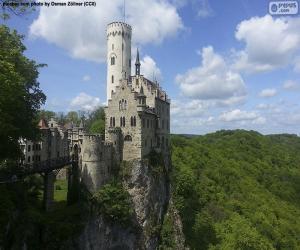 Puzle Castelo de Lichtenstein, Alemanha