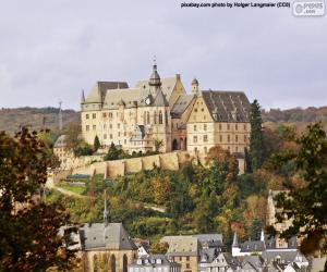 Puzle Castelo de Marburg, Alemanha