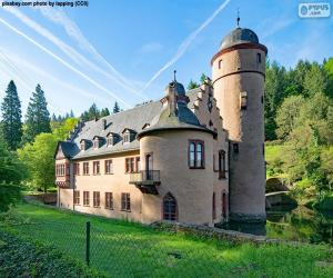 Puzle Castelo de Mespelbrunn, Alemanha