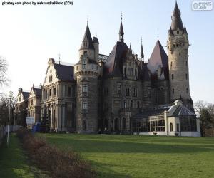 Puzle Castelo de moszna, Poland