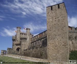 Puzle Castelo de Ponferrada, Espanha