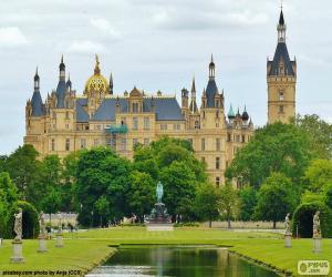 Puzle Castelo de Schwerin, Alemanha