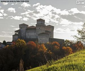 Puzle Castelo de Torrechiara, Itália