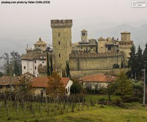 Puzle Castelo de Vigoleno, Itália