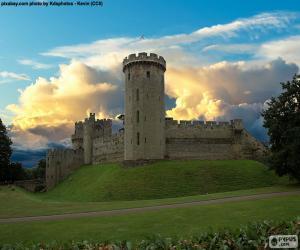 Puzle Castelo de Warwick, Inglaterra