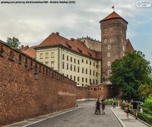 Puzle Castelo Real de Wawel, Polônia