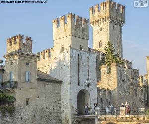 Puzle Castelo Scaligero, Itália