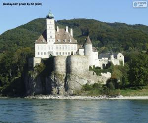 Puzle Castelo schönbühel, Áustria