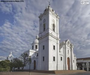 Puzle Catedral Basílica de Santa Marta, Colômbia
