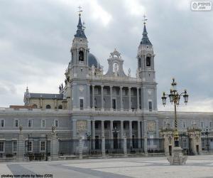 Puzle Catedral de Almudena, Madrid
