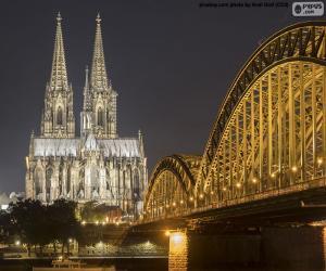 Puzle Catedral de Colónia, Alemanha