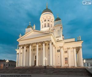 Puzle Catedral de Helsínquia, Finlândia