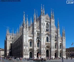 Puzle Catedral de Milão, Itália